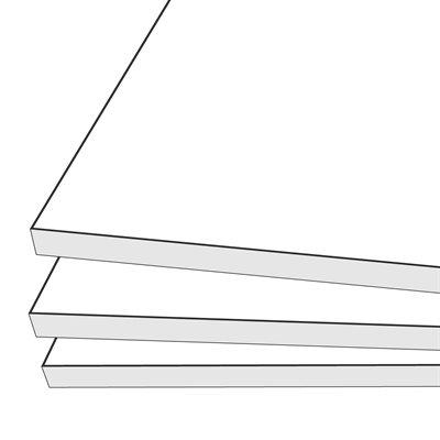 Nucore Foamboard White 40x60 10mm