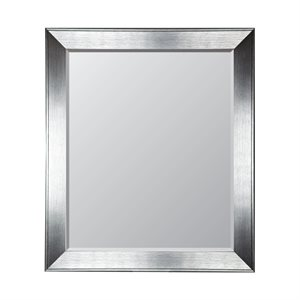 Luxe 24 X 36 Mirror Silver